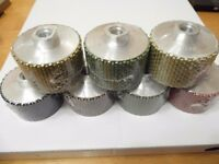 Wet Professional Diamond Polishing Drums 50mm x 45mm - Use on a grinder