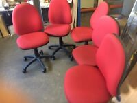 red office chairs