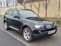 2007 BMW X3 3.0 30d SE 5dr STEPTRONIC AUTO 4X4 - FSH, LONG MOT Jan 2018