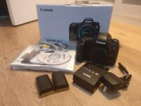 Canon 6D with 2 batteries and accessories - In original box