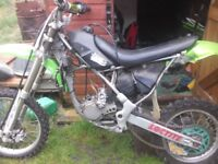 Kawasaki kx85 small wheel spares or repair