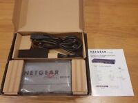 Netgear GS108P 8 Port Switch with x4 POE