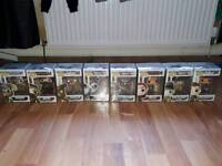 Fallout/Elder Scrolls Pop Funkos (New in protective Cases)