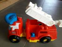 Mega Bloks Fire Truck.