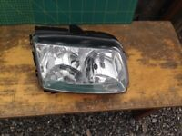 VW POLO 6N2 PAIR OF HEADLIGHTS HEADLIGHT LIGHT (both Left and Right) VOLKSWAGEN
