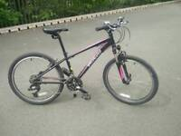 Girls Specialized Hotrock 24 xs mountain bike