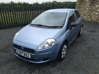 2007 07 FIAT PUNTO 1.2 ACTIVE 5 DOOR HATCHBACK - *LOW MILEAGE* - ONLY 3 FORMER KEEPERS!