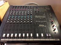 Mixing desk - Studiomaster Powerhouse Focus 808 - 14 Channel - 600 watt Powered