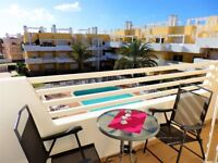 Penthouse Holiday Apartment in Cabanas Golf Resort Algarve PORTUGAL. 2 bed/2bath