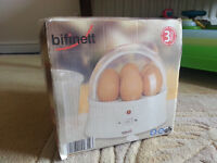 BIFINETT EGG COOKER KH 401 WITH ORIGINAL BOX*EXCELLENT CONDITION*WORKS PERFECTLY*VERY CHEAP