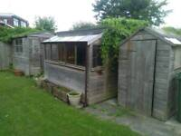 Free sheds for use or scrap