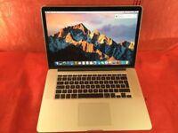 Macbook Pro 15inch a1398 Retina 2.3ghz intel core i7 8gb ram 128gb 2012+ WARRANTY L735