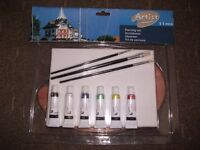 Brand new acrylic painting set