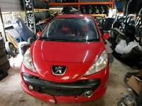 PEUGEOT 207 1.6 HDI 2006-2011 AVAILABLE FOR SPARE PARTS