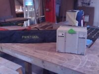 Festool Plunge saw and rail guide