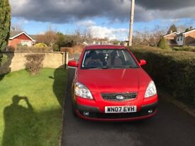2007 KIA RIO. ONE OWNER FROM NEW. BRAND NEW MOT. £1395