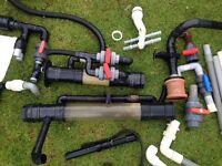 Nexus koi pond filter accessories valves