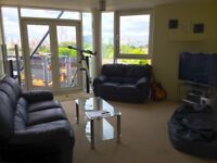 Bishops Corner 2 Bedroom Penthouse Apartment Flat Panoramic Terrace Manchester Hulme University View