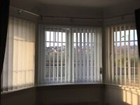 Vertical Blinds - purchased from Bilanco Blinds Grangemouth