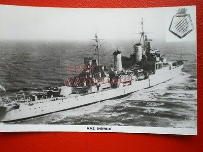 PHOTO  HMS SHEFFIELD (F96)  A TYPE 22 FRIGATE OF THE ROYAL NAVY