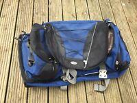 Large Samsonite Detour 3 Rolling Duffle Bag