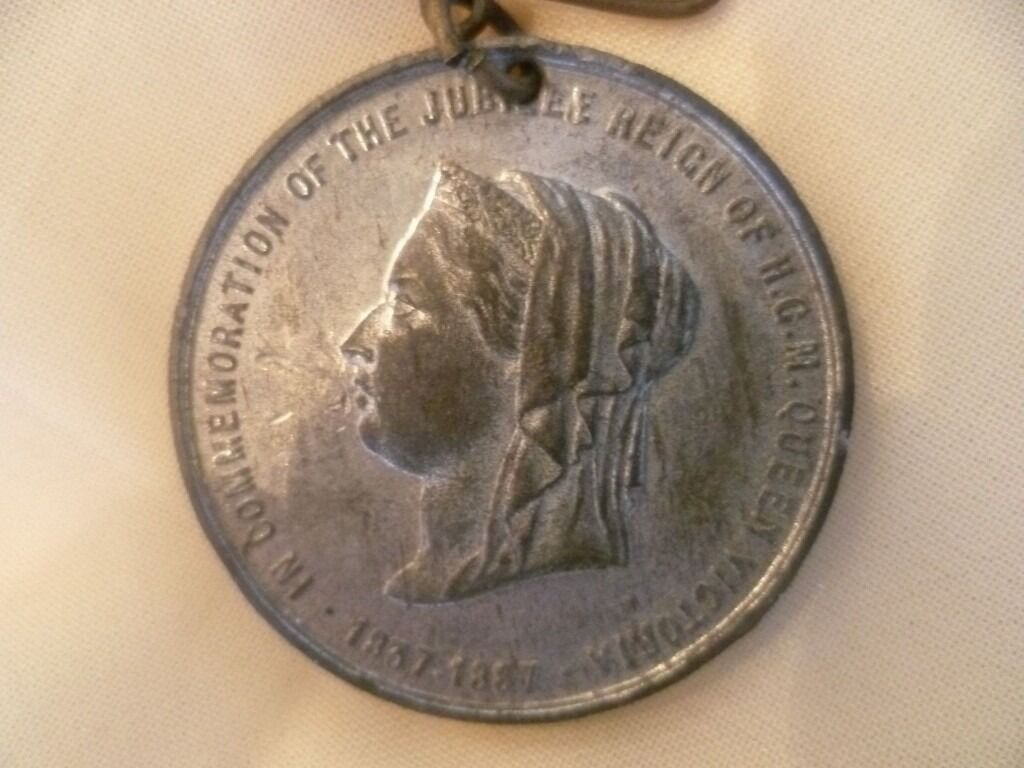 Queen Victoria Diamond Jubilee Coin Medal 1837 1897