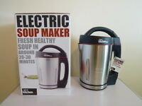 Stainless Steel Electric Soup Maker – New , From Your Kitchen