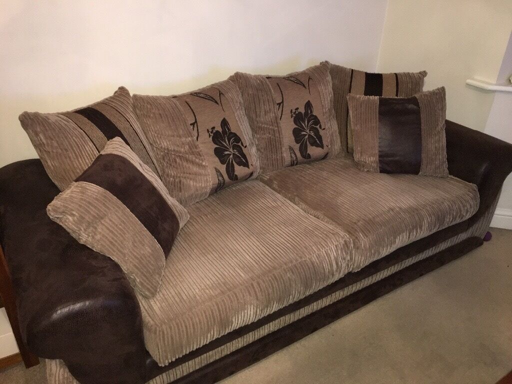 3 2 seater sofa scs kirk style excellent condition in northampton northamptonshire gumtree. Black Bedroom Furniture Sets. Home Design Ideas