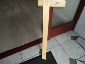 HELIX WOODEN T SQUARE, 65cm. USED ONCE