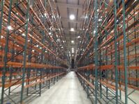 joblot 80 bays of dexion pallet racking AS NEW( storage , shelving )