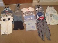 Baby boys 0-3 months clothes bundle - top brands