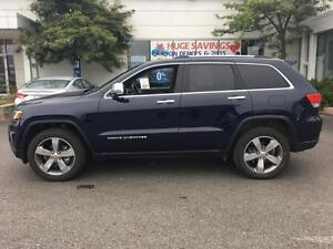 2016 Jeep Grand Cherokee Limited, 3.6L, V6, Leather, Navi, Pano