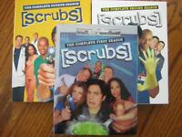 scrubs Seasons 1,2,3, and 4 $40 for all brand new