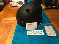 POC Receptor Commuter Cycling Helmet - Black - M/L + Lock bag