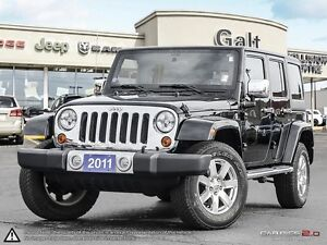 2011 Jeep Wrangler Unlimited 70TH ANNIVERSARY   LEATHER   HEATED