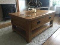 Mondri Oak Coffee Table