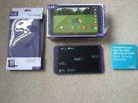 Hudl2 with case and charger complete with boxes.