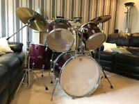 Pearl Export Series Drum Kit with Cymbals