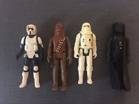 Star Wars figures from 1982/84