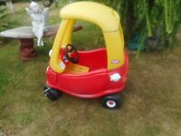 Little tikes red cosy coupe