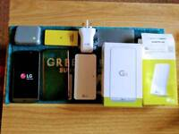 LG G5 with accessories