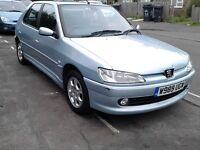 PEUGEOT 306 MERIDIAN 1.6 MANUAL ** PETROL**LONG MOT**