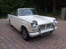 Triumph Herald Convertible Classic Car