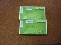 Runrig Farewell Concert Friday 17th August @ Stirling 2 Seated tickets £170