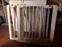 5 x Stair / door gates