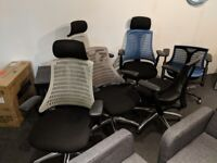 6 Office Desk Chairs - Clearing Office £40/each