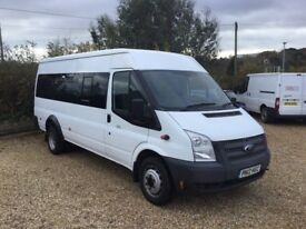 2012 , ford , transit , 17 seater , 2200cc , 6 speed ,full service history, only 25k , minibus