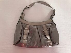Silver next handbag
