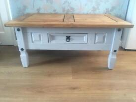 Solid pine coffee table. Open to sensible offers