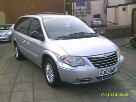 CHRYSLER GRAND VOYAGER 2.8 CRD LX Auto (silver) 2005